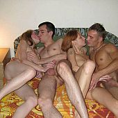 Russian swinger avid party.