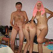 Fuckfest motel room orgy.
